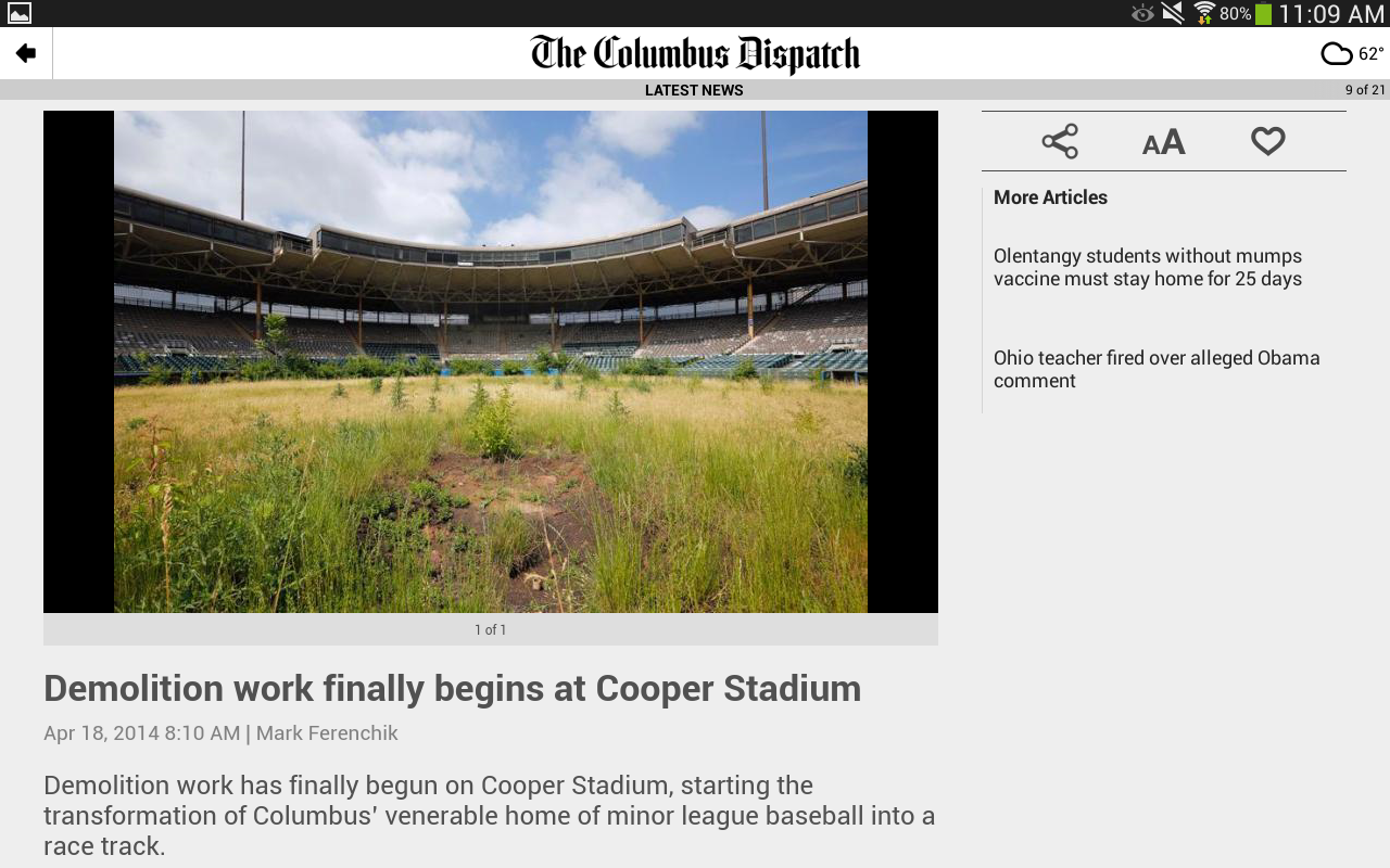 The Columbus Dispatch- screenshot