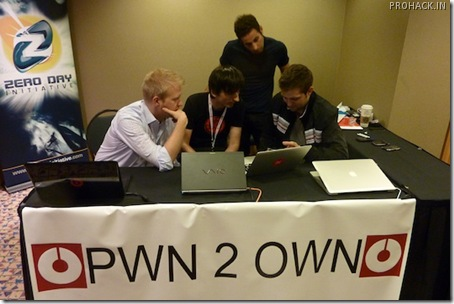 at Pwn2Own 2010