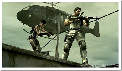 Resident Evil 5 is a damn gorgeous looking game