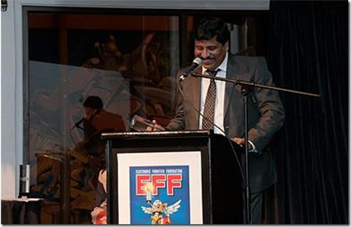 The famed security researcher Hari Prasad is the winner of EFF Pioneer award