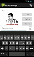 Screenshot of SMS Rage Faces Pro