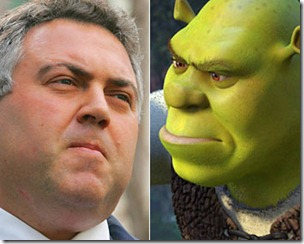 Joe-Hockey-and-Shrek-Gary-Ramage-AP-5514232