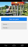 Screenshot of Discores - Disc Golf App