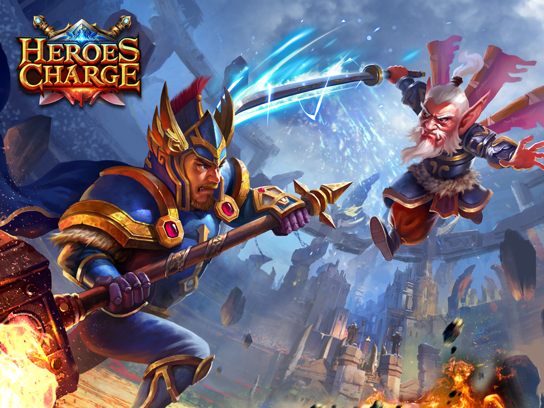Heroes Charge- screenshot