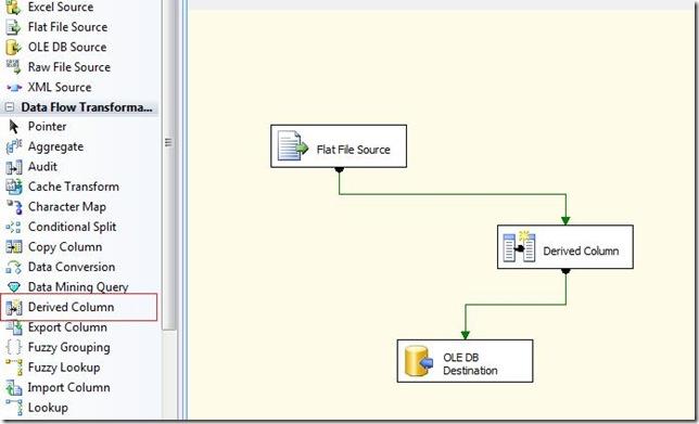SQL SERVER: SSIS - Derived Column Data Flow Transformation ~ SQL Yoga