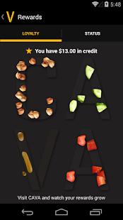 Cava Grill Loyalty- screenshot thumbnail