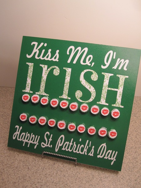 Kiss Me I M Irish Board Infarrantly Creative