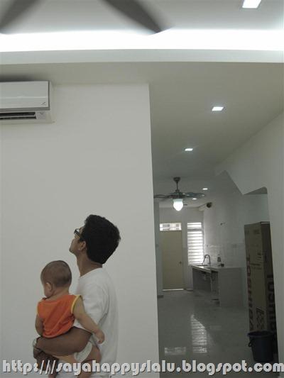 P Kitorang Buat Plaster Ceiling Dari Living Hall Sehingga Dapur Jadi Siling Kat Yang Mulanya Tinggi Sikit Dah Diturunkan Sama Level Dengan