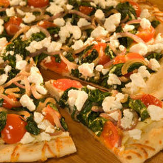 Greek-style Pizza.
