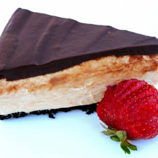 No Bake Peanut Butter Cheesecake.