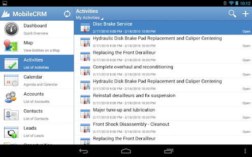 Resco Mobile CRM for Dynamics - screenshot thumbnail