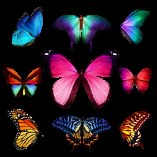 蝴蝶園貼紙書 教育 App LOGO-硬是要APP