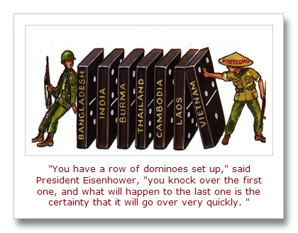 This Day In Quotes The Origins Of The The Domino Effect