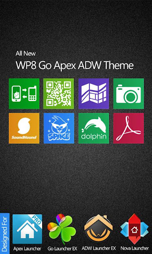 Related iPhone HD Go Apex ADW Theme 2.1 apk Apps