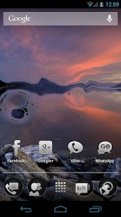 Waterize Lite Live Wallpaper - screenshot thumbnail