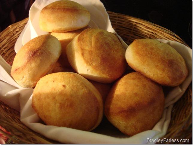 Fresh biscuits.