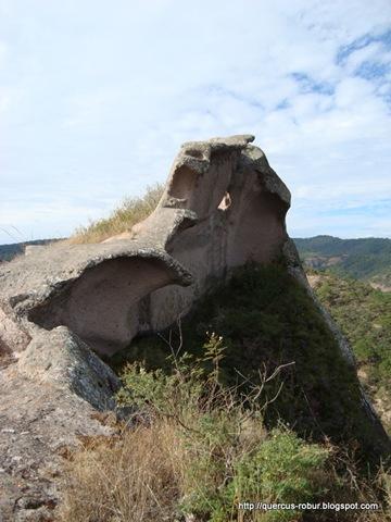 Las olas y la Boca del Hipopótamo en el Cerro de la Campana