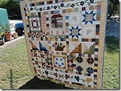 Nelly's 60th BD Quilt.