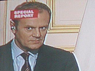 Prime Minister of Poland Donald Tusk, Platforma Obywatelska,  I do what I am told, therefore I am