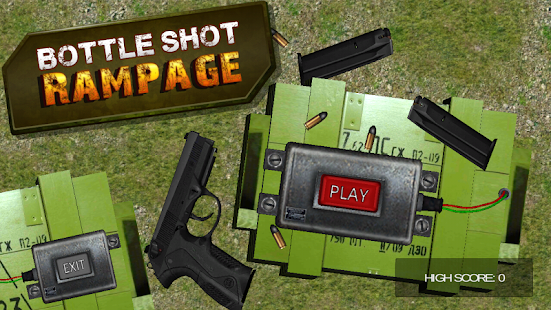 Bottle Shot Rampage 3D Gun Sim