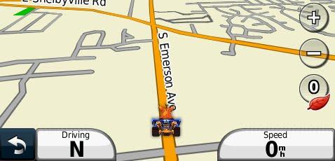garmin nuvi kart Ewzzy: Garmin Nuvi Fun – Crash Bandicoot garmin nuvi kart