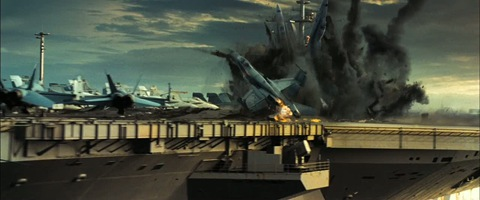 Transformers 2 - Return Of The Fallen -  Protoforms destroy the carrier