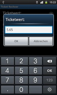 TicketCalc- screenshot thumbnail