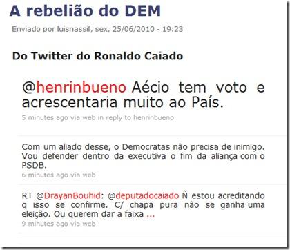 Que DEMônios há com Serra/PSDB ?