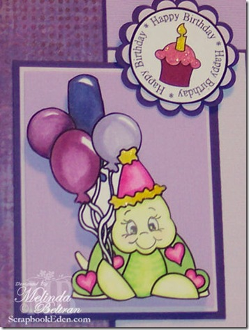 cricut birthday turtle digi stamp by melin-500