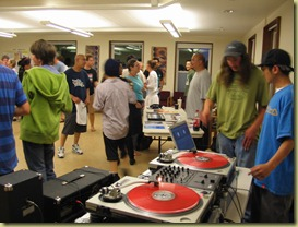Hip-hop in Quaker meetinghouse