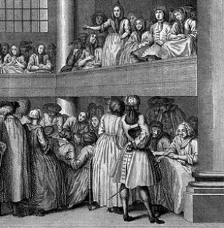 Woman preaches in Quaker meeting