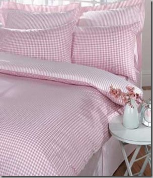 bedding gingham