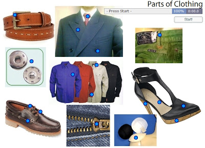 Chiew's CLIL EFL ESL Blog: Parts of Clothing