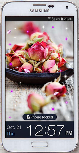 Roses Love Poem live wallpaper