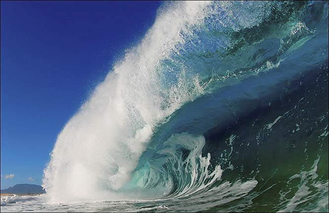 Waves Photos by Photographer Clark Little