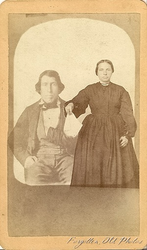 One weird photo CdV DL Antiques