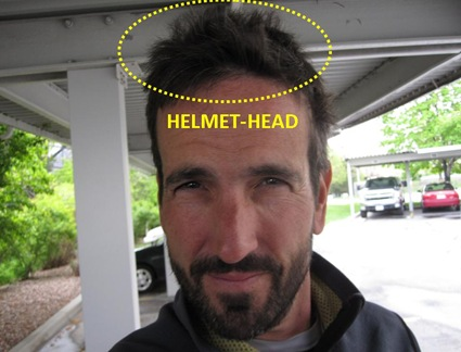 I Wear A Helmet Usually Bike Sometimes Ski Almost Every Day Back In Life 1 0 Often Wore Motorcycle Head Has Been Constant