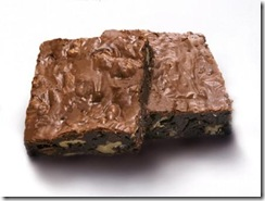 Brownie con almendras