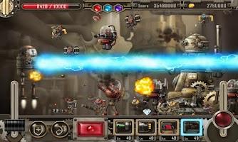 Screenshot of Zolaman Robot Gunz HD