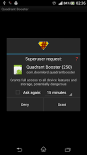 Quadrant Booster- screenshot thumbnail