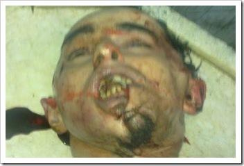 بالصور : مقتل شاب على يد مخبرين قسم سيدي جابر