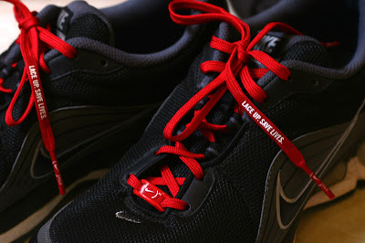 Nike AirMax Turbulence+ with Nike (RED) Laces