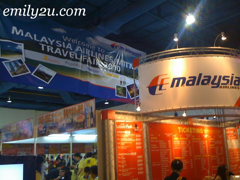 Malaysia Airlines - MITM Travel Fair 2010 @ MidValley Megamall