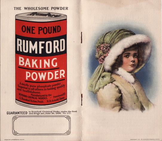 Rumford Bking Powder Girl