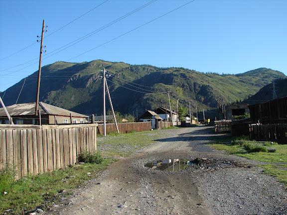 Aktash dans l'Altaï, juin 2009. Photo : Leonid