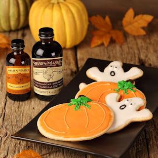 Celebrate Halloween with Boo-tastic Almond Sugar Cookies.