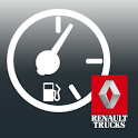 Truck Fuel Eco Driving icon