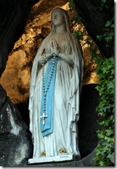 Immaculate Conception Lighted in the Grotto