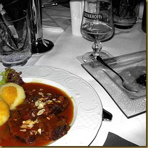 Sauerbraten black and white 2