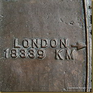 Distance to London from Auckland